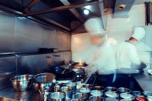 cuisine de chef chinois photo