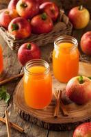 cidre de pomme orange bio photo