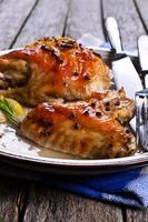 poulet au four photo