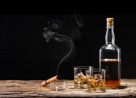 boissons au whisky photo