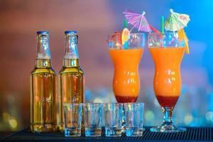 de l'alcool