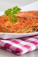 aubergine parmigiana.