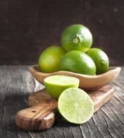 limes fraîches