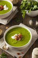 soupe aux pois verts maison