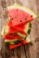délicieux melon d'eau sur la table