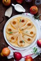 tarte aux poires photo
