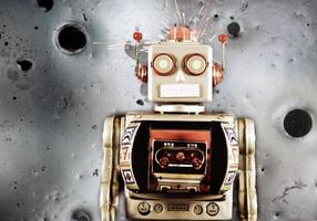 robot lune photo