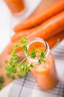 jus de carotte photo