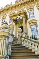 escalier menant au manoir photo