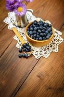 myrtilles fraîches photo