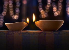 lampe à huile diwali
