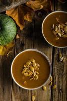 soupe de citrouille d'Halloween photo