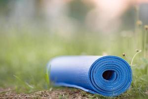 tapis de yoga photo