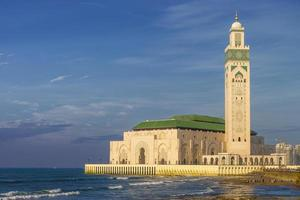 mosquée hassan ii à casablanca, maroc photo