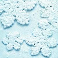 fond de neige d'hiver flocons de neige