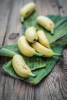 bananes dorées photo