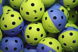 balles de floorball photo