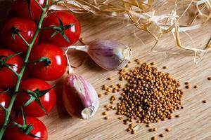 tomate cerise photo