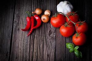 tomates fraîches photo