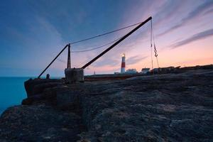 phare à portland bill, dorset. photo
