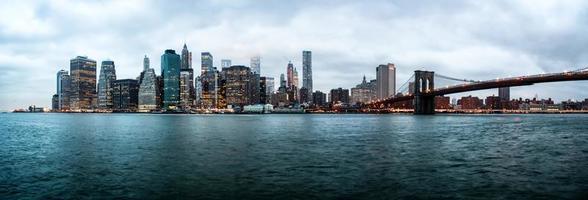 panorama de new york photo