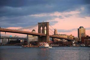pont de brooklyn new york city photo