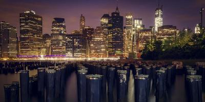 new york city la nuit.