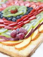 gâteau aux fruits photo