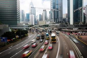 voitures en mouvement photo