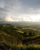 san jose et collines après la tempête