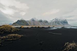 vestahorn, islande photo