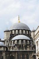 détail de yeni cami (nouvelle mosquée), istanbul. photo