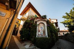 belgirate, lago maggiore, novara, piemonte, italia photo
