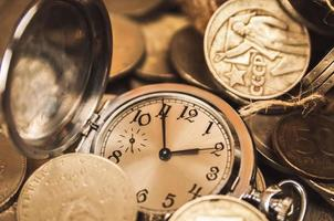 le temps, c'est de l'argent photo