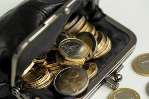 argent, finances. pièces en euro