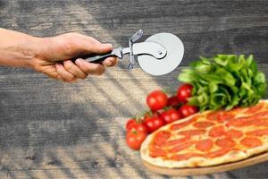 pizza, tomate, pizza margharita photo