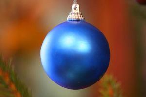 ornement d'arbre de Noël photo