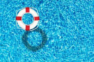 piscine, eau, anneau photo