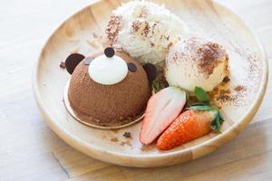gâteau ours en peluche photo