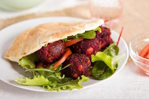 falafel de betterave photo