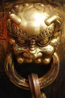 détail de la porte à beijing photo