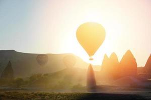 capadocia, turquie, ballon photo