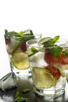 mojito aux fraises photo
