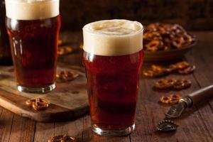 bière fraîche d'automne oktoberfest brassée