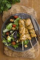 brochettes de poulet tikka