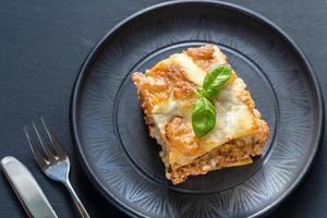 lasagne au pesto photo