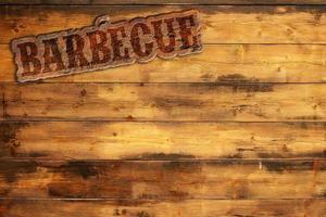 menu barbecue photo
