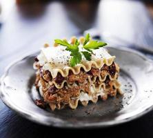 lasagne végétalienne photo