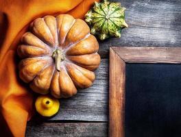 menu d'automne photo