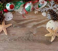fond de Noël côtier